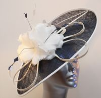 Black and White Mother of the Bride Hatinator 13103 SD627